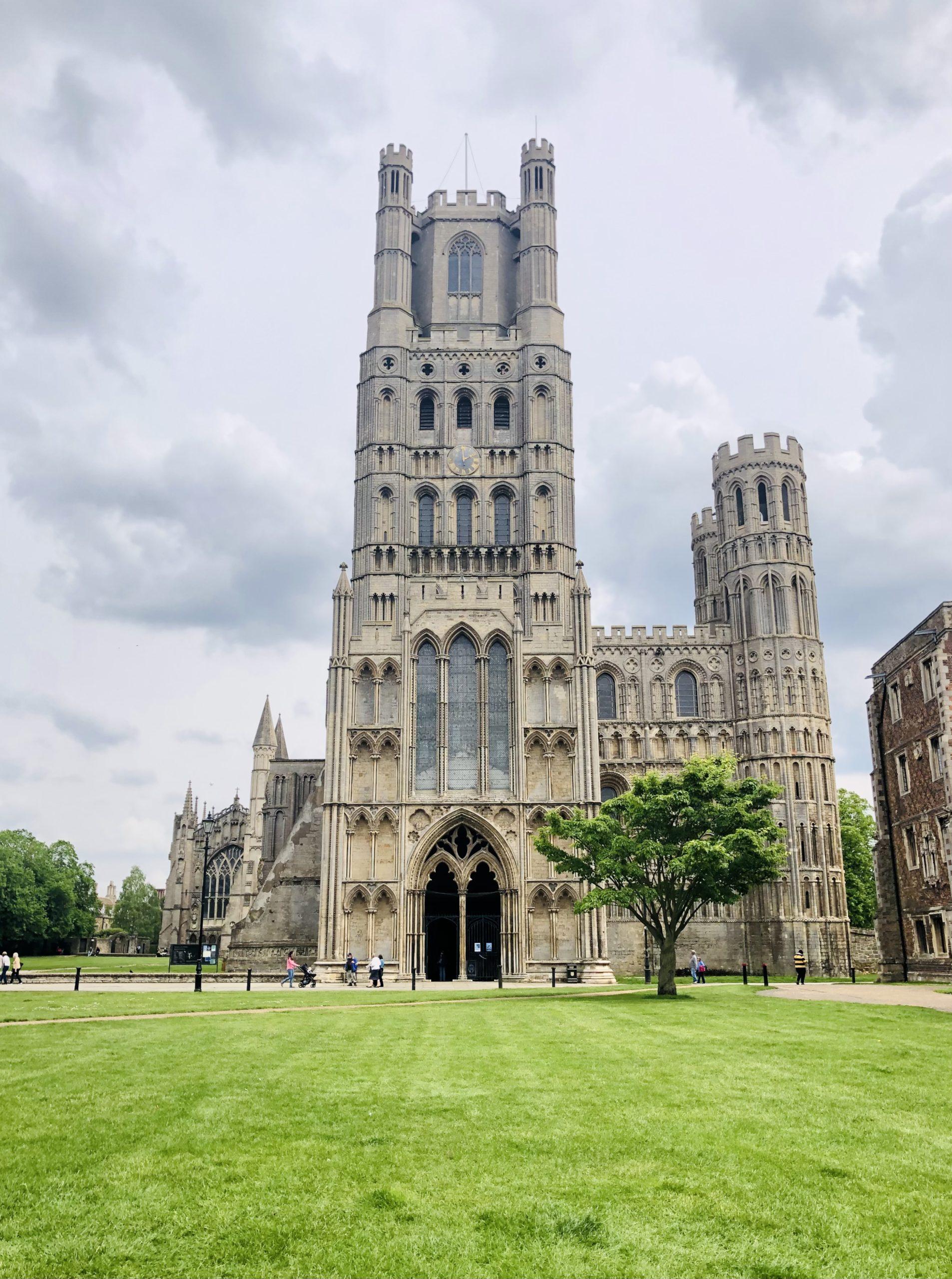 katedrala v Ely, kousek od Cambridge